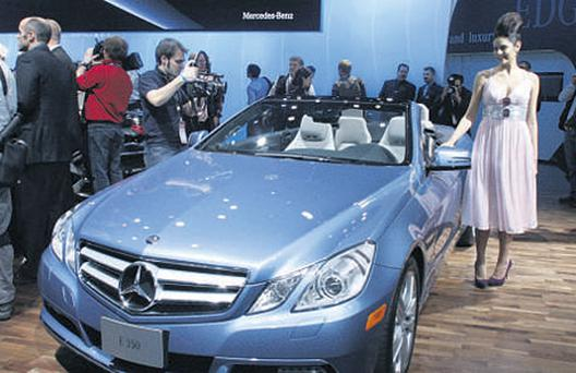 Mercedes-Benz introduced the E350 convertible