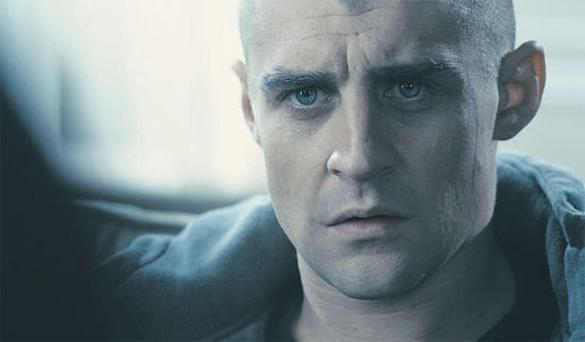Actor Darren Healy in a scene from the movie 'Savage' for which he has been nominated for an IFTA.