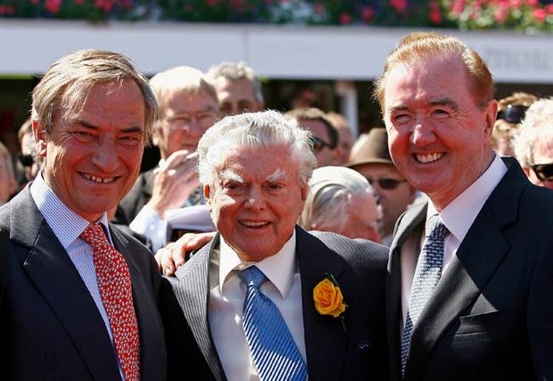 Dermot Weld's (Right) exciting prospect could make hurdling debut at Leopardstown towards the end of the month Photo: Getty Images