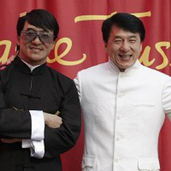 Jackie Chan unveiled his latest waxwork in Hollywood