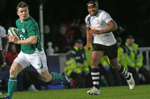 Brian O'Driscoll (l) has had an outstanding year Photo: Getty Images