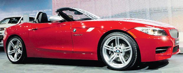 On show in Detroit: The hot new BMW Z4
