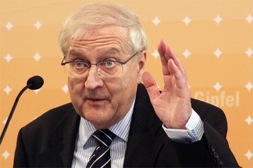 Rainer Bruederle, Germany's economy minister. Photo: Bloomberg News