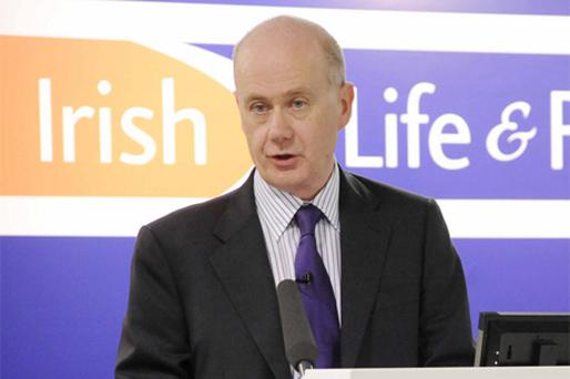 Group chief executive Kevin Murphy told analysts that as a result of exposure to commercial property, Irish Life would not be paying a dividend to the loss-making bank for 2008