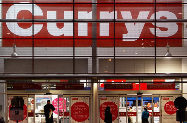 Currys stores across the UK sold on average a television set a every two seconds over the Christmas shopping period. Photo: Getty Images