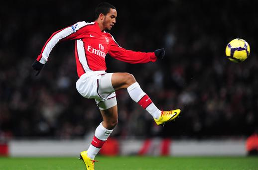 Waiting in the wings: Theo Walcott is on the verge of a return to the Arsenal first team. Photo: Getty Images