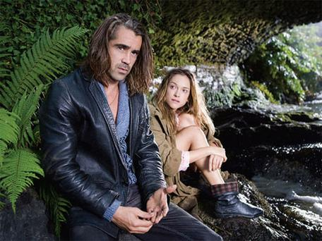 HOOKED: Ondine was filmed in the Beara Peninsula and stars Colin Farrell and Alicja Bachleda-Curus - Farrell's offscreen partner