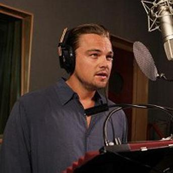 Leonardo DiCaprio has signed up to voice a space film