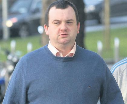Anthony McGrath was jailed after being caught on a secret garda camera.