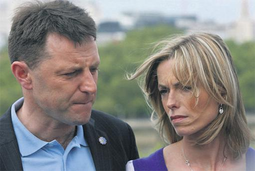 No closure: Gerry and Kate McCann