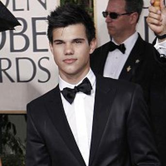 Taylor Lautner said staying in shape is tough