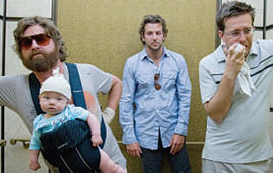 The Hangover was the number one film at the Irish box office for 2009.