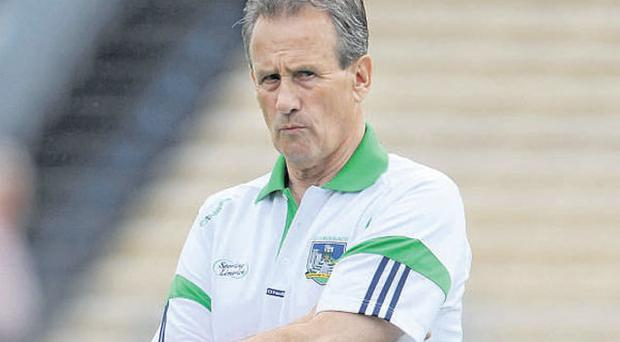 Limerick manager Justin McCarthy broke his silence over the players' protests last week
