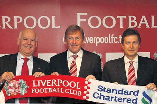 Former Liverpool player and manager Kenny Dalglish at the club's announcement of a new sponsorship deal last year