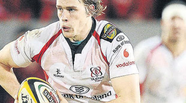 Andrew Trimble was back in flying form for Ulster in their Heineken Cup victory over Edinburgh