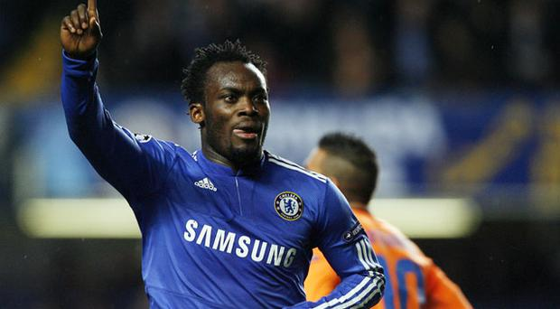 Michael Essien could be out for the rest of season Photo: Getty Images