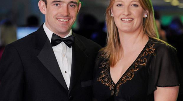 Ruby Walsh and his wife Gillian