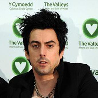 Lostprophets frontman Ian Watkins plays a gig at his old school