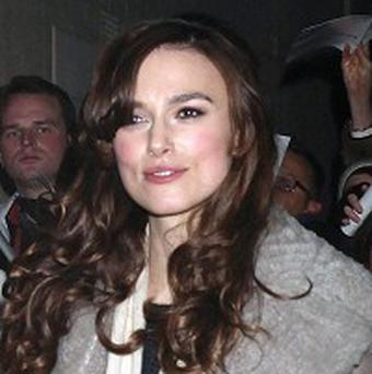 Keira Knightley is not living on a boat, her spokesperson said