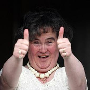 Susan Boyle says she will no longer be performing her famous wiggle
