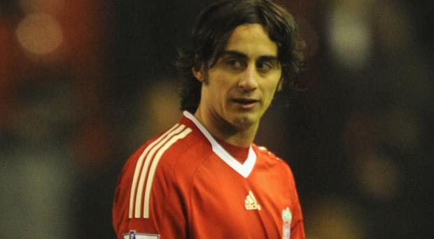 Alberto Aquilani hoping to prove Reds are more than a two man team Photo: Getty Images