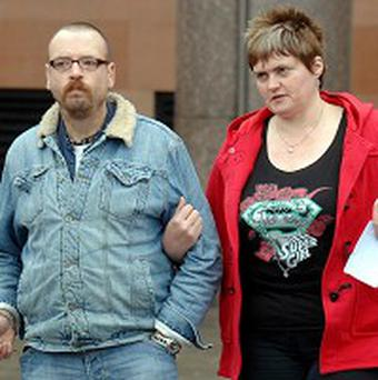 Caroline Cartwright and her husband Steve sparked complaints with their noisy bedroom antics