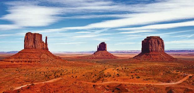 Irish tourists may soon have to pay an entry fee to visit well-known tourist attractions like Monument Valley in Utah, above, and all other US destinations