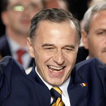 Romania Presidential candidate Mircea Geoana beaten in poll due to