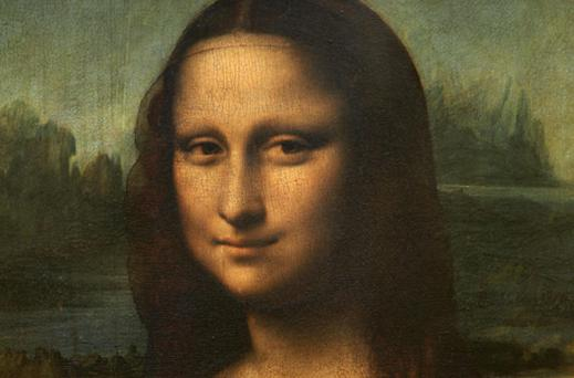 Experts believe the Mona Lisa is a da Vinci self-portrait. Photo: Getty Images