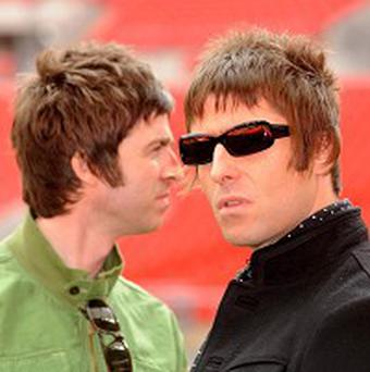 Oasis have been nominated for three NME gongs