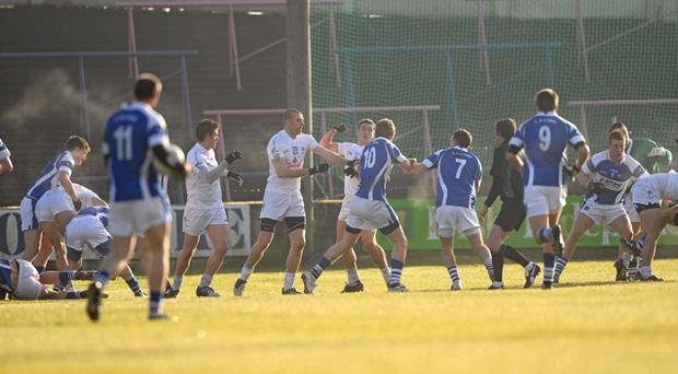 Leinster chiefs weigh up sanctions for Kildare and Laois after brawl