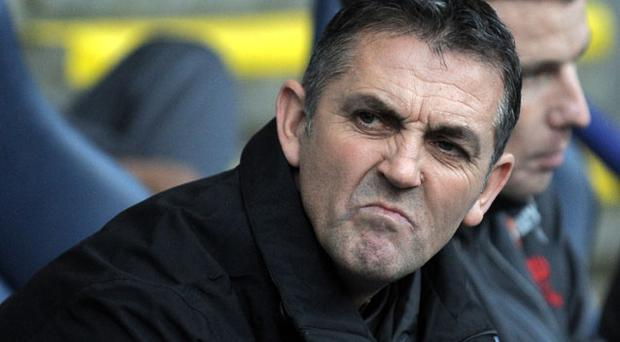 Owen Coyle expects abuse from the Burnley fans Photo: Getty Images