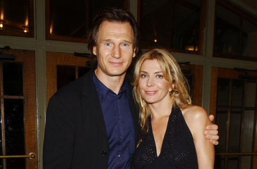 Natasha Richardson and Liam Neeson. Natasha died after a skiing accident. Photo: Getty Images
