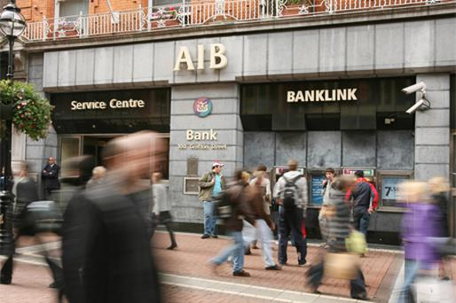 Rating cut by Standard & Poor: Allied Irish Banks. Photo: Bloomberg News
