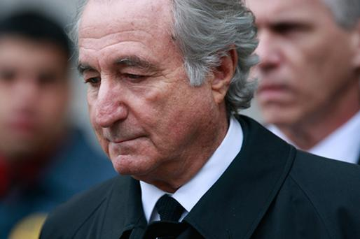 Fraudster Bernie Madoff. Photo: Getty Images