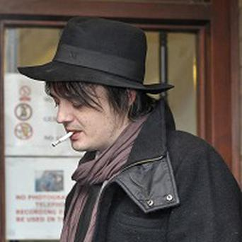 Pete Doherty has been fined over drugs incident