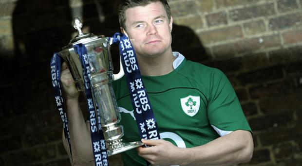 Irish captain Brian O'Driscoll says last year's glory will spur the team on in their quest to retain the Six Nations title. Photo: Getty Images