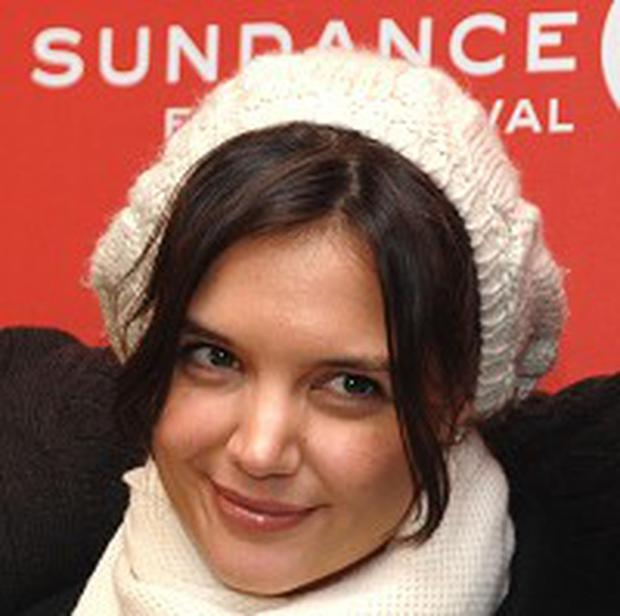 Katie Holmes' new movie was screened at Sundance
