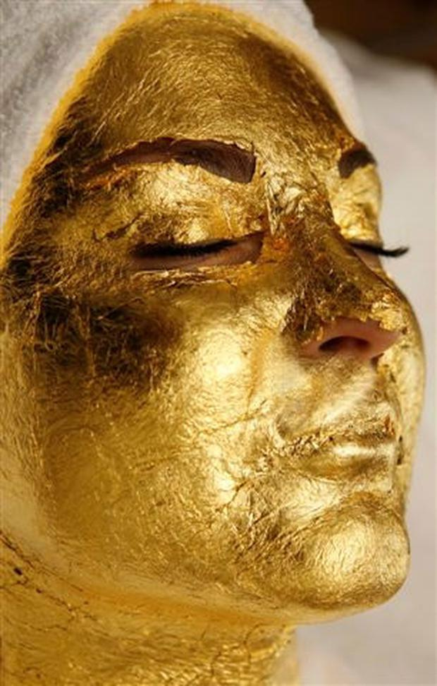 The 24ct Gold Facial is the latest beauty trend