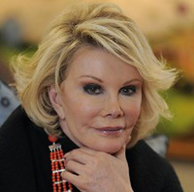 Joan Rivers joked she couldn't get into the Sundance gifting booths
