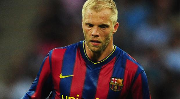 Earn his Spurs: Eidur Gudjohnsen has joined Tottenham from Monaco Photo: Getty Images
