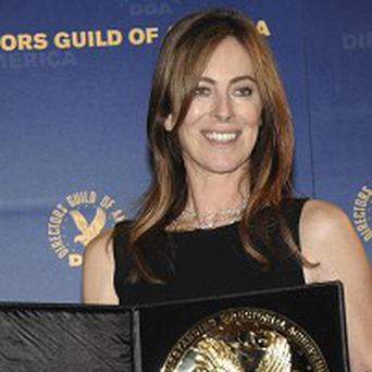 Director Kathryn Bigelow picked up an award from her peers in the US