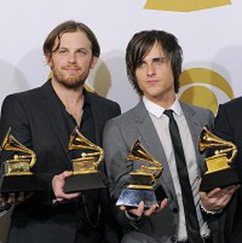 Kings of Leon were off to celebrate their success with their mum
