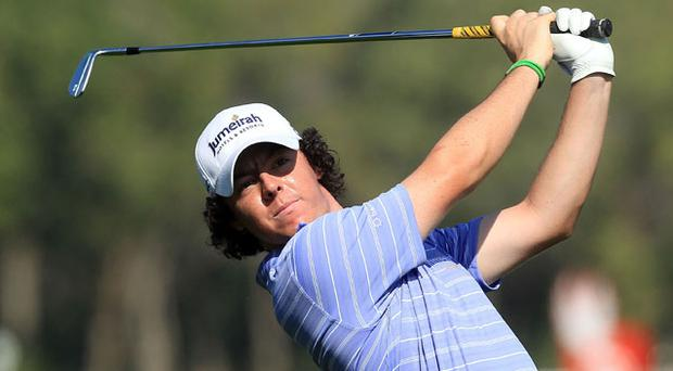 Rory McIlroy has moved into 9th place Photo: Getty Images