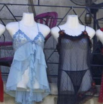 Lingerie sales increase as more women donning underwearas outer wear