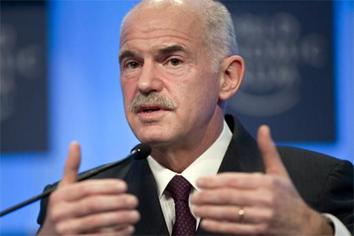 Cuts: Greek Prime Minister George Papandreou. Photo: Bloomberg News