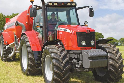 For Massey Ferguson, this 5840 tractor added considerable clout to its ranges on display at the event