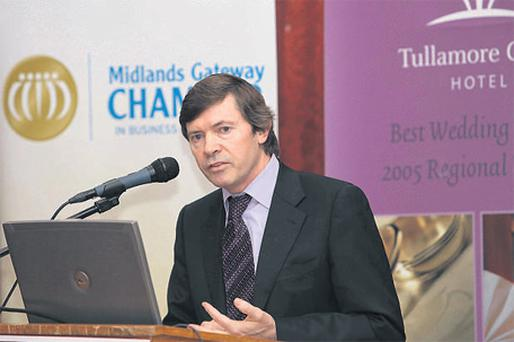 Owen Killian, The Midlands Gateway Chamber Ambassador of the Year 2009- 2010