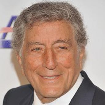 Tony Bennett's portrait is being used on a festival poster