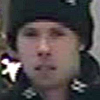 The man Greater Manchester police wish to speak to in connection with the assaults